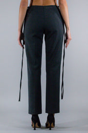MM6 TAILORED TROUSERS GREY