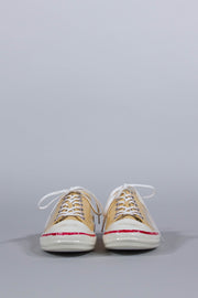 MARNI YELLOW LOW SNEAKERS CANVAS IN LEATHER