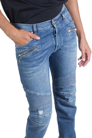 BALMAIN TAPERED JEANS