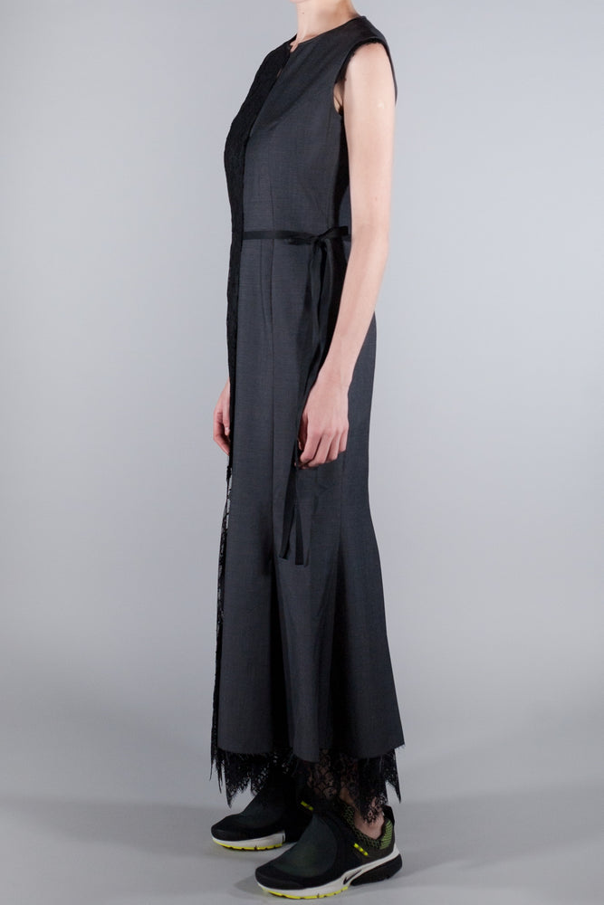 JUNYA WATANABE LACE PANEL DRESS