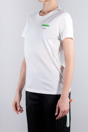 OFF WHITE PRINCESS CASUAL TEE WHITE LIGHT GREEN