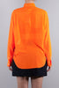 JUNYA WATANABE TRANSPARENT SHIRT FLUO ORANGE