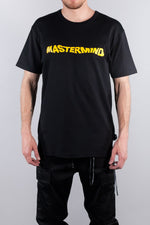 MASTERMIND WORLD HAPPY SKULL TEE BLACK