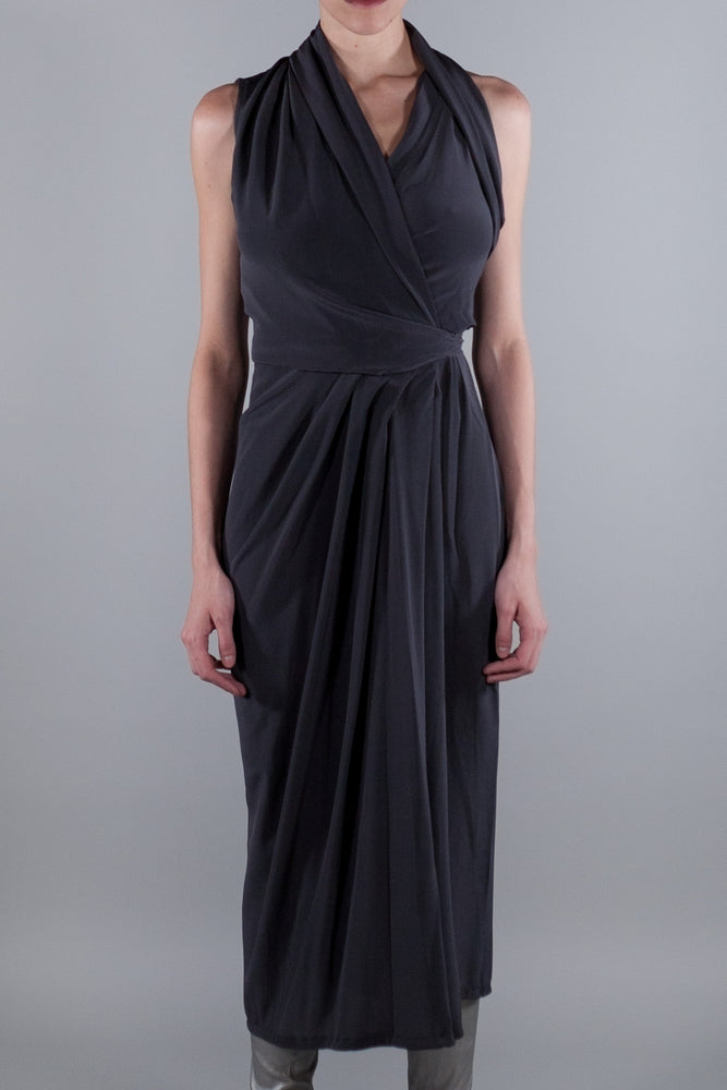 RICK OWENS BLUJAY LIMO DRESS