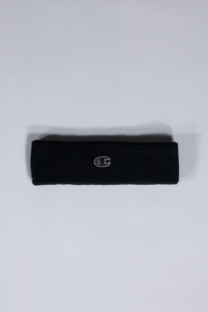 RICK OWENS X CHAMPION HEADBAND SPONGY BLACK