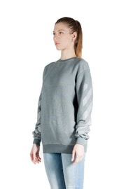 OFF WHITE ARROW REG CREWNECK GREY GREY