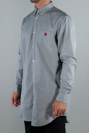 UNDERCOVER SHIRT LONG SLEEVE OXBD CHARCOAL
