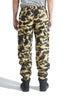 BAPE 1ST CAMO 2 IN 1 CARGO PANTS YELLOW