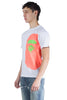BAPE NEON SIDE BIG APE HEAD TEE WHITE