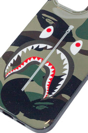 BAPE 1ST CAMO SHARK IPHONE 12 PRO MAX CASE GREEN