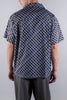 KOLOR RETRO PRINT SHIRT BLUE