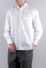 KOLOR LS STITCH DETAIL SHIRT WHITE