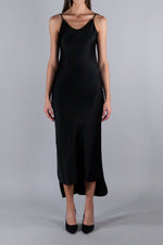 ANDREA YA AQOV VISCOSE DRESS BLACK