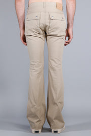 UNDERCOVER FLARED CHINOS LIGHTBEIGE