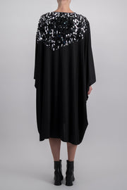 MM6 DRESS WITH SEQUIN DETAILS
