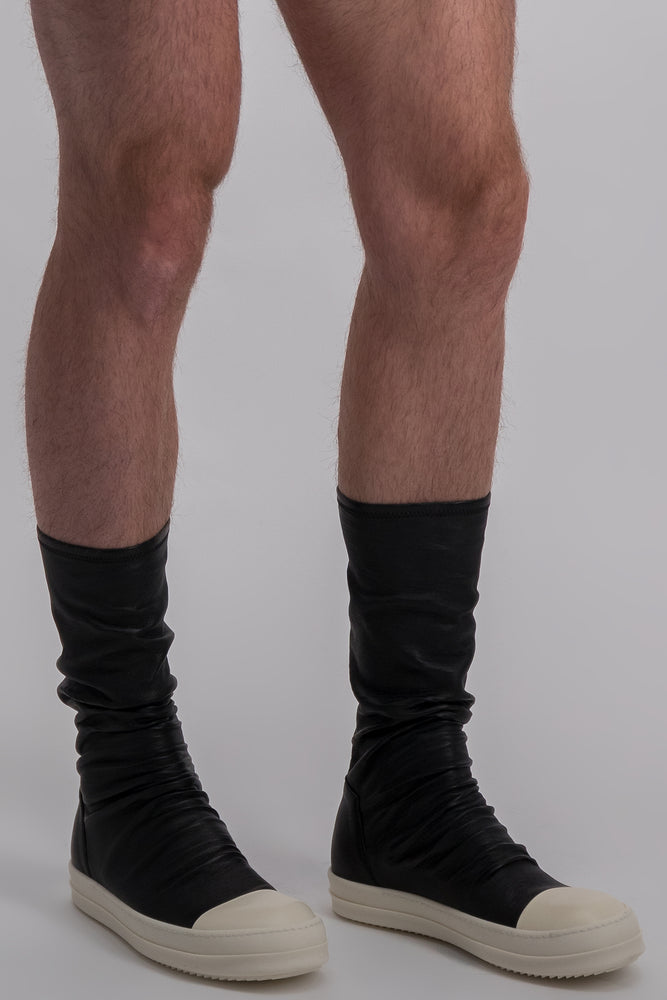 RICK OWENS STOCKING SNEAKERS BOOTS LOW MEN