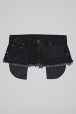 UNRAVEL PROJECT STONE DNM BAGGY BOY BELT BLACK