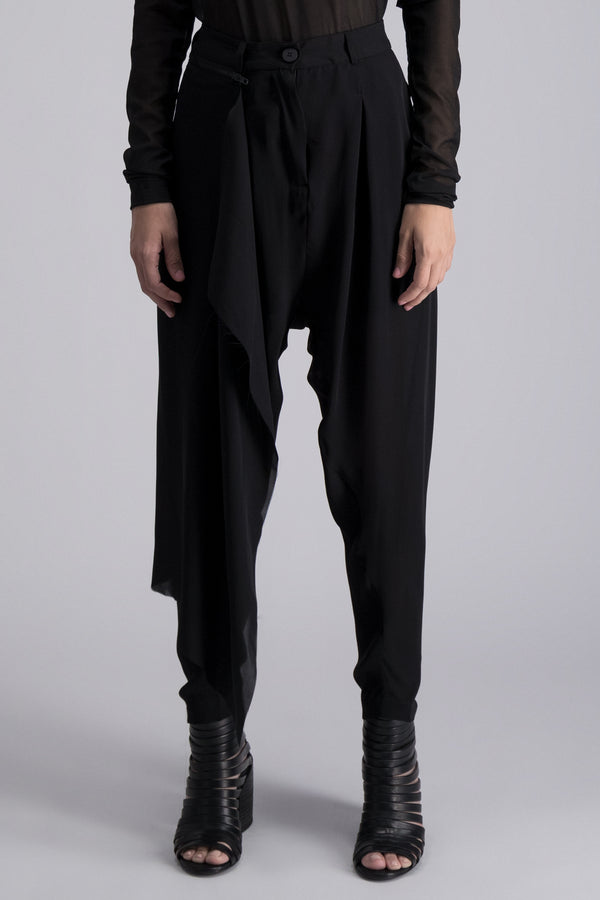 ISABEL BENENATO TROUSERS BLACK