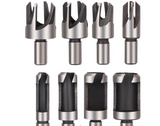 8 - Pcs Wood plug cutter Drills Cutter For Woodworking Tools