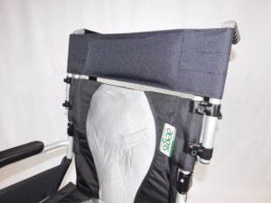 Universal Wheelchair Back Rest Extension For Use With