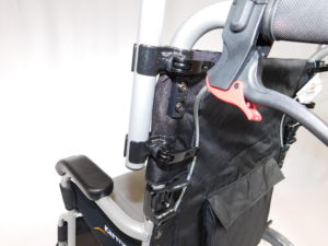 Universal Wheelchair Back Rest Extension (for use with Handle Extender)