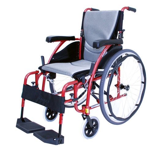 Economy Plus Lightweight Wheelchair Silver Frame