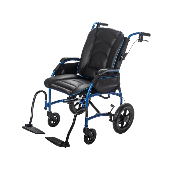 "12"" Rear Wheel / Black & Blue Leather Bucket Seat +$469.99"