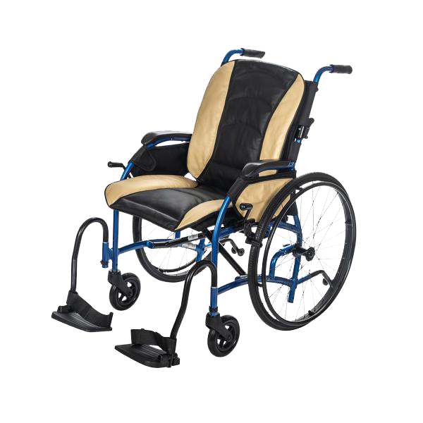 "24"" Rear Wheel - Self Propel / Black & Tan Leather Bucket Seat +$469.99"