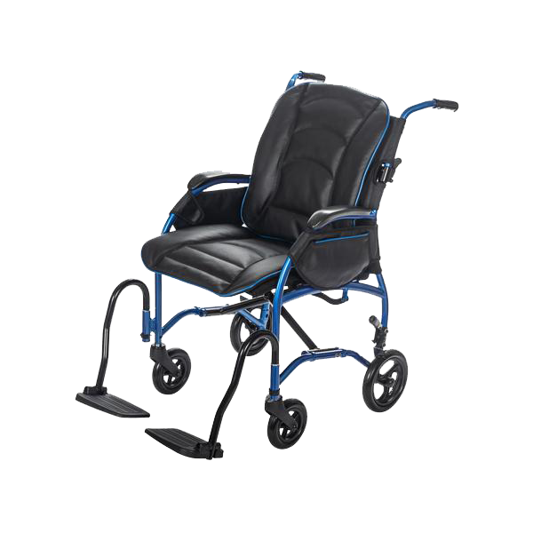 "8"" Rear Wheel / Black & Blue Leather Bucket Seat +$469.99"
