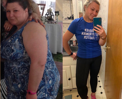 Dedication, Determination, Drive and The Love for Running, Helped Emmy Lose Almost 200 Pounds the All Natural Way.