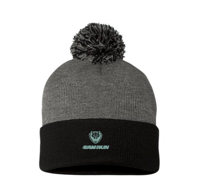 6AM Run Pom-Pom Knit Cap