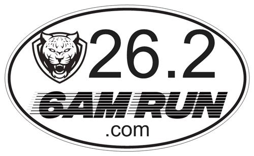 FREE 6AM Run 13.1, and 26.2 Bumper Sticker