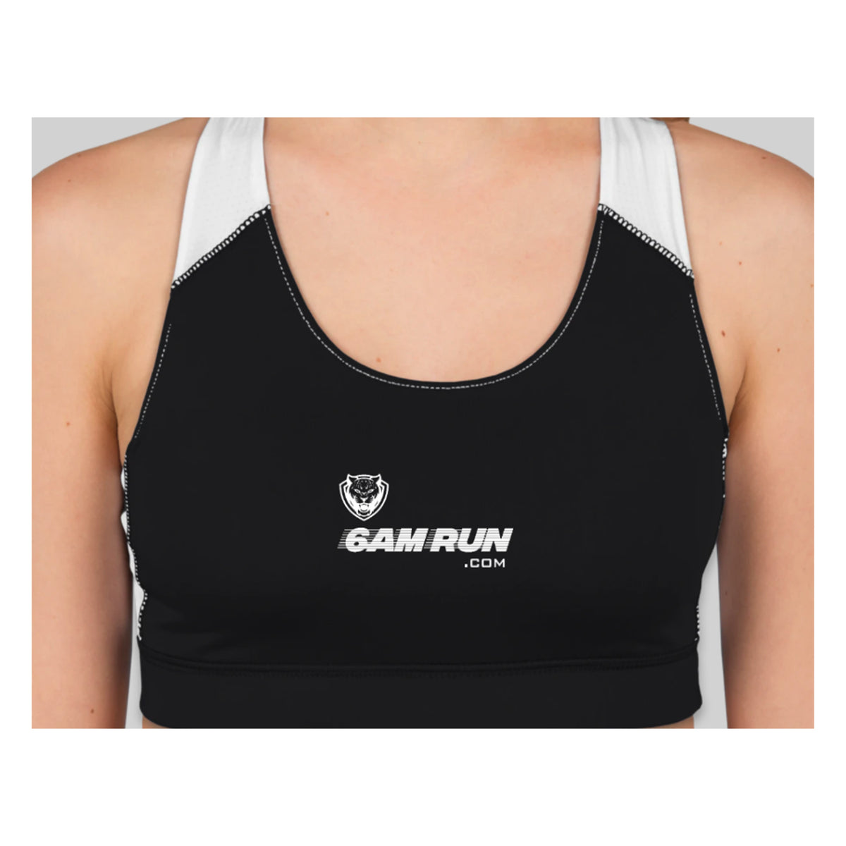 6AM Run Gear Womens Performance Sports Bra