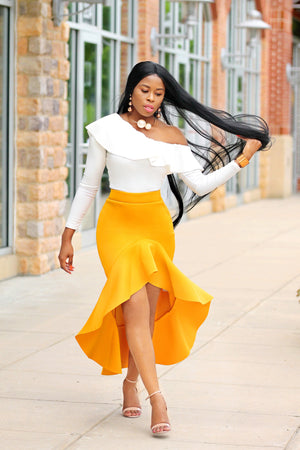 Yellow Mellow Skirt