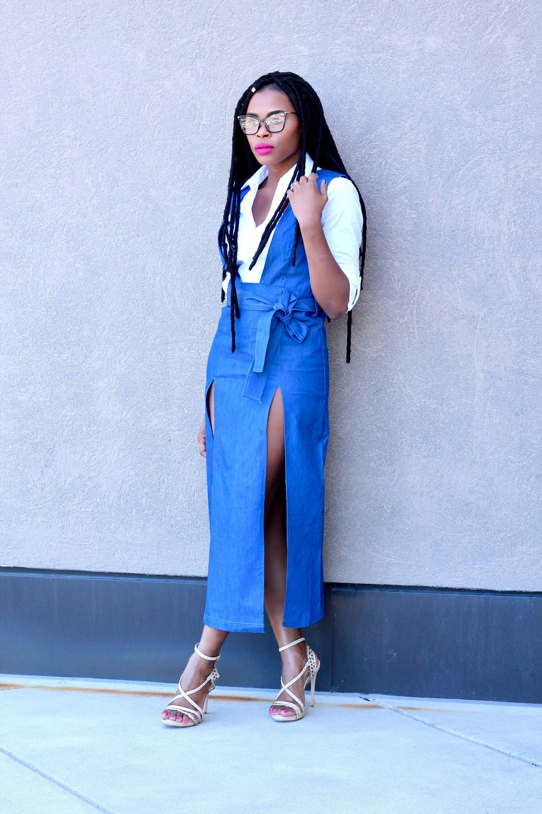 Denim Chic Dress