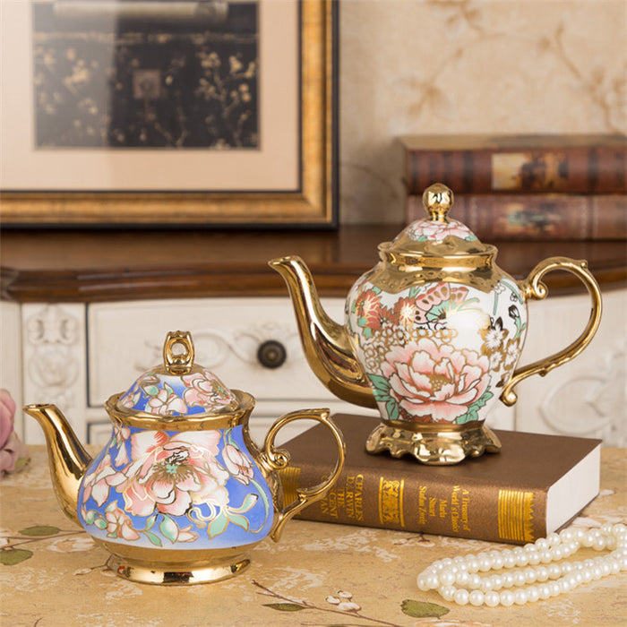 Luxury Gilding Tea Pot - The Little Tea Boutique
