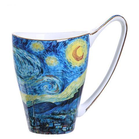 Van Gogh Starry Night Painting Mug -Tea for 1 - The Little Tea Boutique