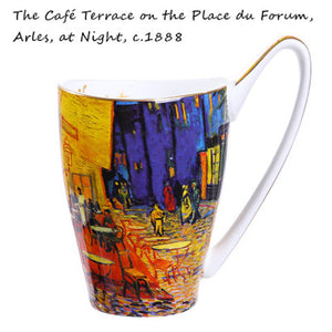 Van Gogh Arles At Night Painting Mug -Tea for 1 - The Little Tea Boutique