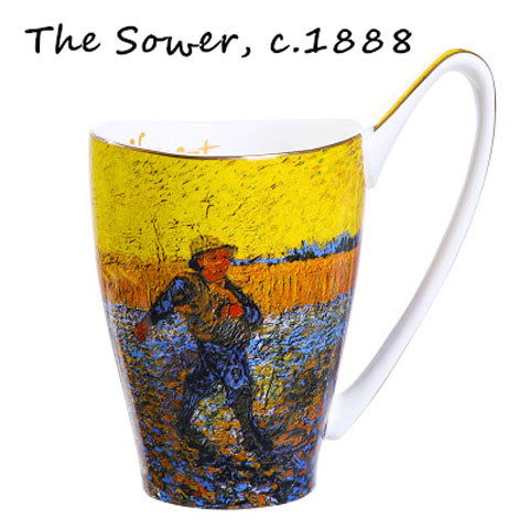 Van Gogh - The Sower Painting Mug -Tea for 1 - The Little Tea Boutique