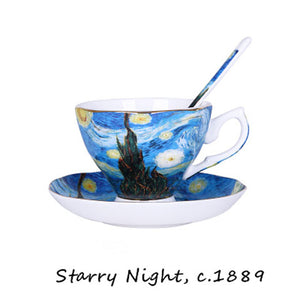 Van Gogh Starry Night Cup -Tea for 1 - The Little Tea Boutique