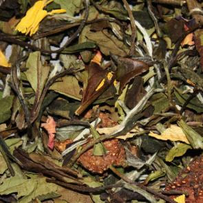 Tea Leaves Pai Mu Tan GUAVA - The Little Tea Boutique