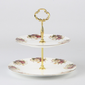 Floral Cake Stands - The Little Tea Boutique