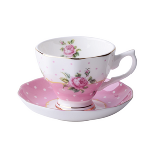 English Baby Pink Tea for 1 - The Little Tea Boutique