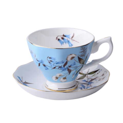 English Baby Blue Tea for 1 - The Little Tea Boutique