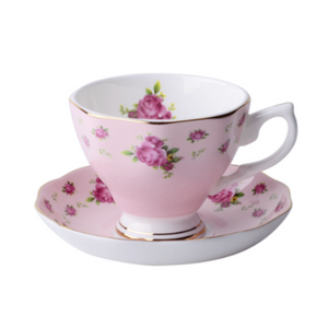 English Pink Tea for 1 - The Little Tea Boutique