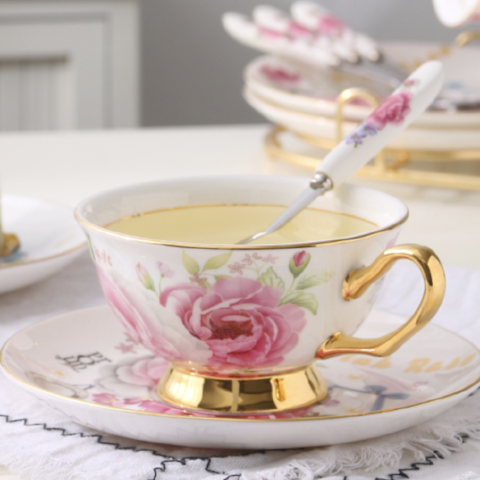 Sweet Rose Tea for 1 - The Little Tea Boutique