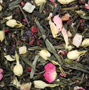 Tea Leaves Sencha CHERRY BLOSSOM - The Little Tea Boutique
