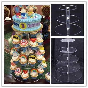 Cake Stand and Round Cupcake Holder - The Little Tea Boutique
