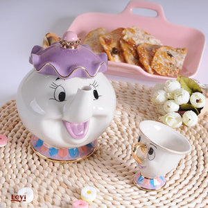 Mrs Potts and Chip Tea Set Beauty and the Beast - The Little Tea Boutique