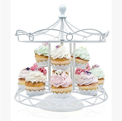 Merry Go Round Cupcake Stand - The Little Tea Boutique
